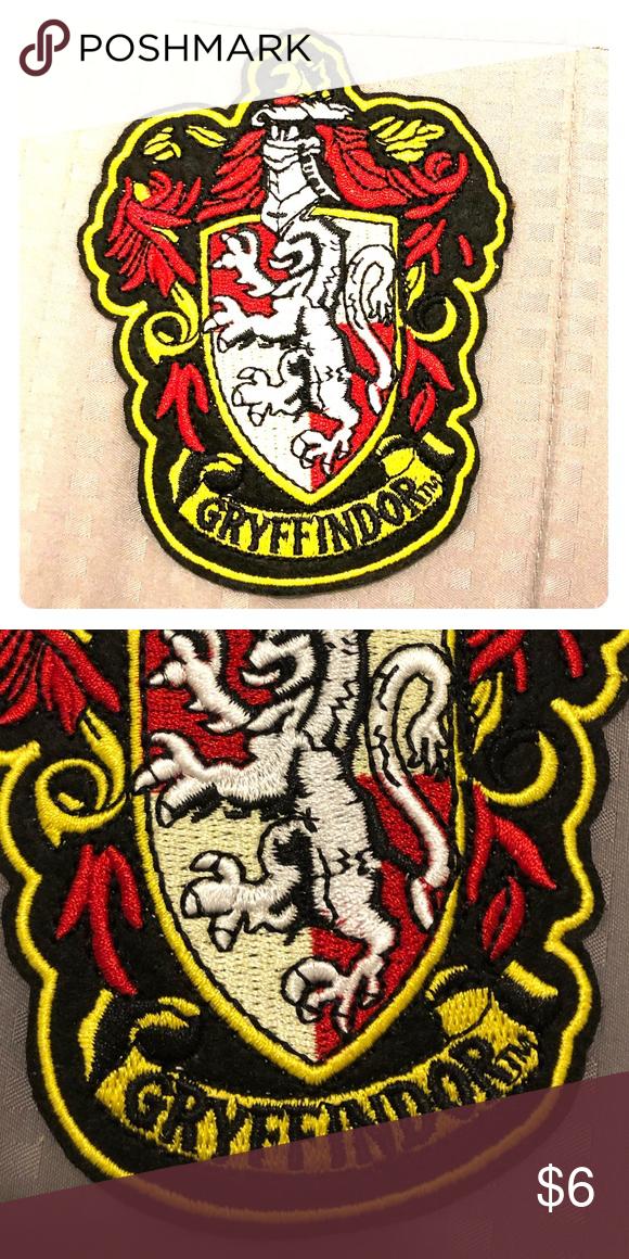 Gryffindor Patch Harry Potter Very Nice Quality Harry Potter Gryffindor Patch 4 1 2 High X 3 1 4 Wide Oth Gryffindor Harry Potter Gryffindor Clothes Design