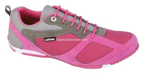 Sepatu Casual Wanita Ctn 19 438 Sintetik Pink 36 40 Rp