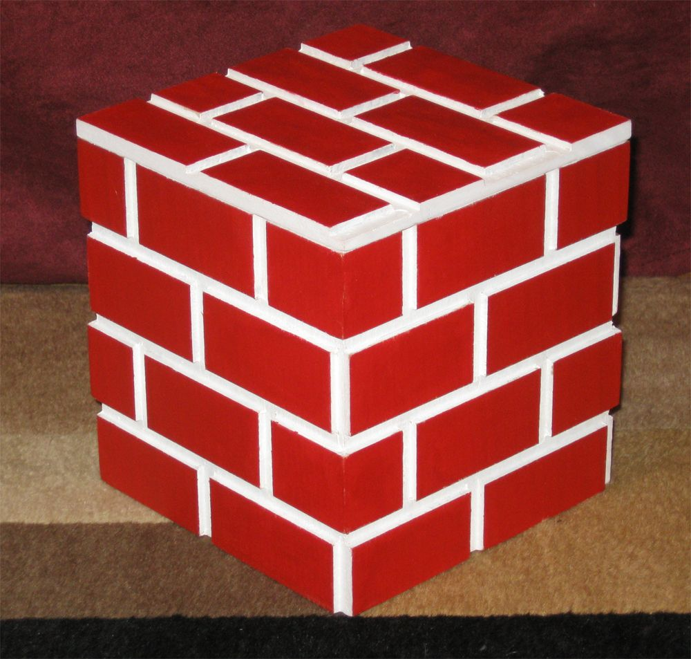 Minecraft Brick Box