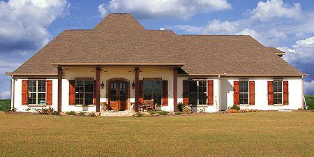 Plan 83858JW: Secluded Master Suite   Acadian house plans, Bonus ...