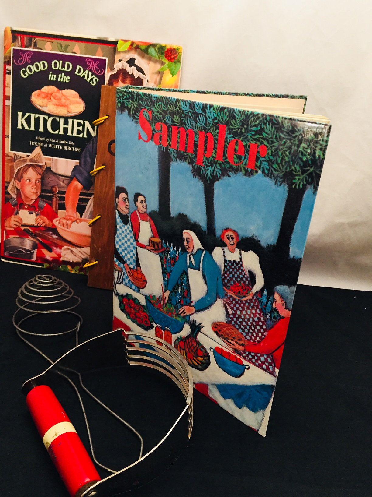 Cookbook sampler a cookbook by womens art guild of