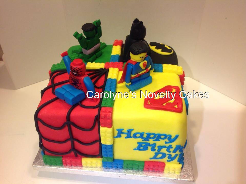 Super Marvel Vs Dc Cake Marvel Birthday Cake Dc Cake Novelty Cakes Funny Birthday Cards Online Kookostrdamsfinfo