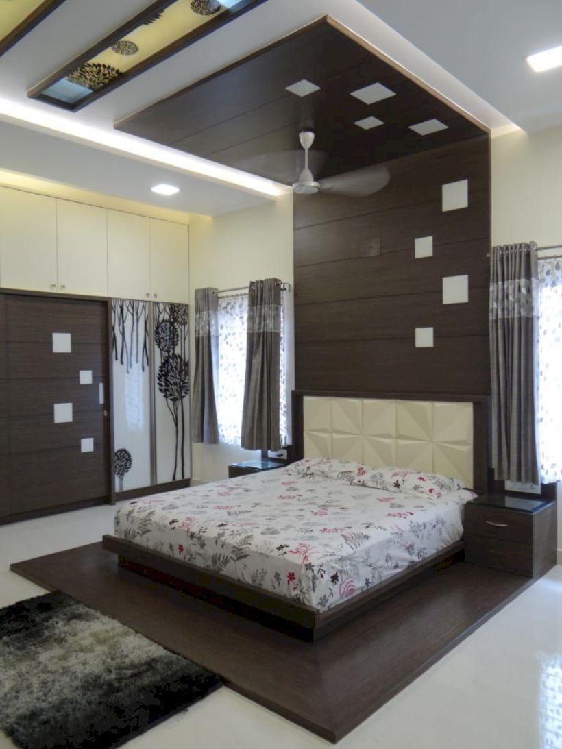 51 The Best Bedroom Design Ideas To Apply In Your Home Matchness Com Ceiling Design Bedroom Bedroom False Ceiling Design Modern Bedroom Design