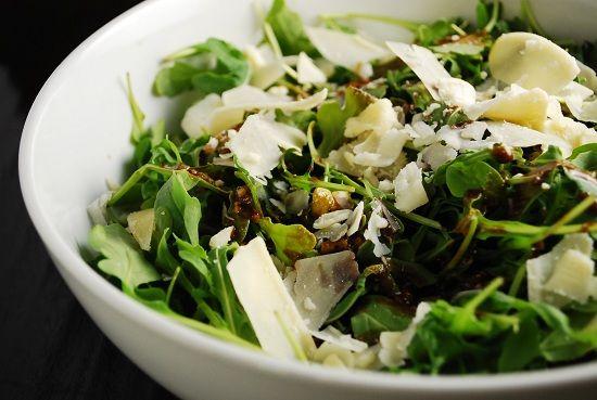 LaaLoosh Arugula and Parmesan Salad
