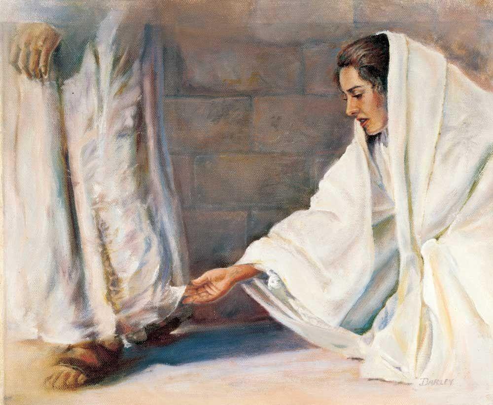Woman Touches Jesus Hem of Garment | Jesus heals, Jesus, Jesus pictures
