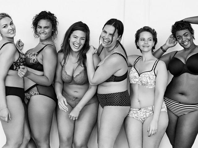 фото рекламы женского белья
