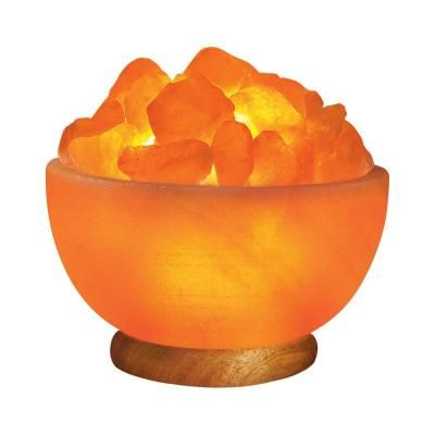 Home Depot Salt Lamp Unique Wbm Himalayan 675 Inionic Crystal Hand Carved Salt 79 Lbsbowl Design Inspiration