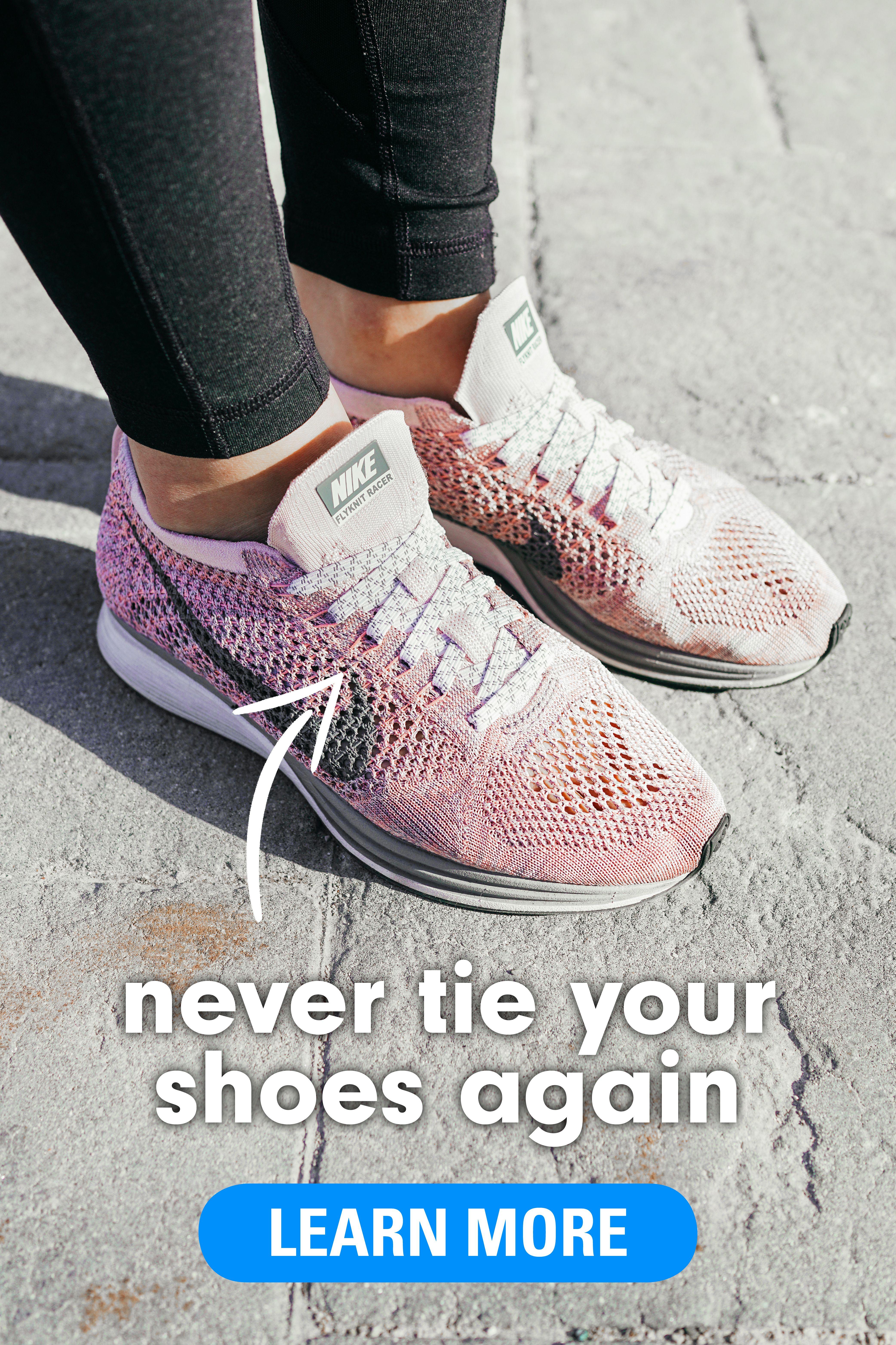 Shoe laces, Elastic shoe laces