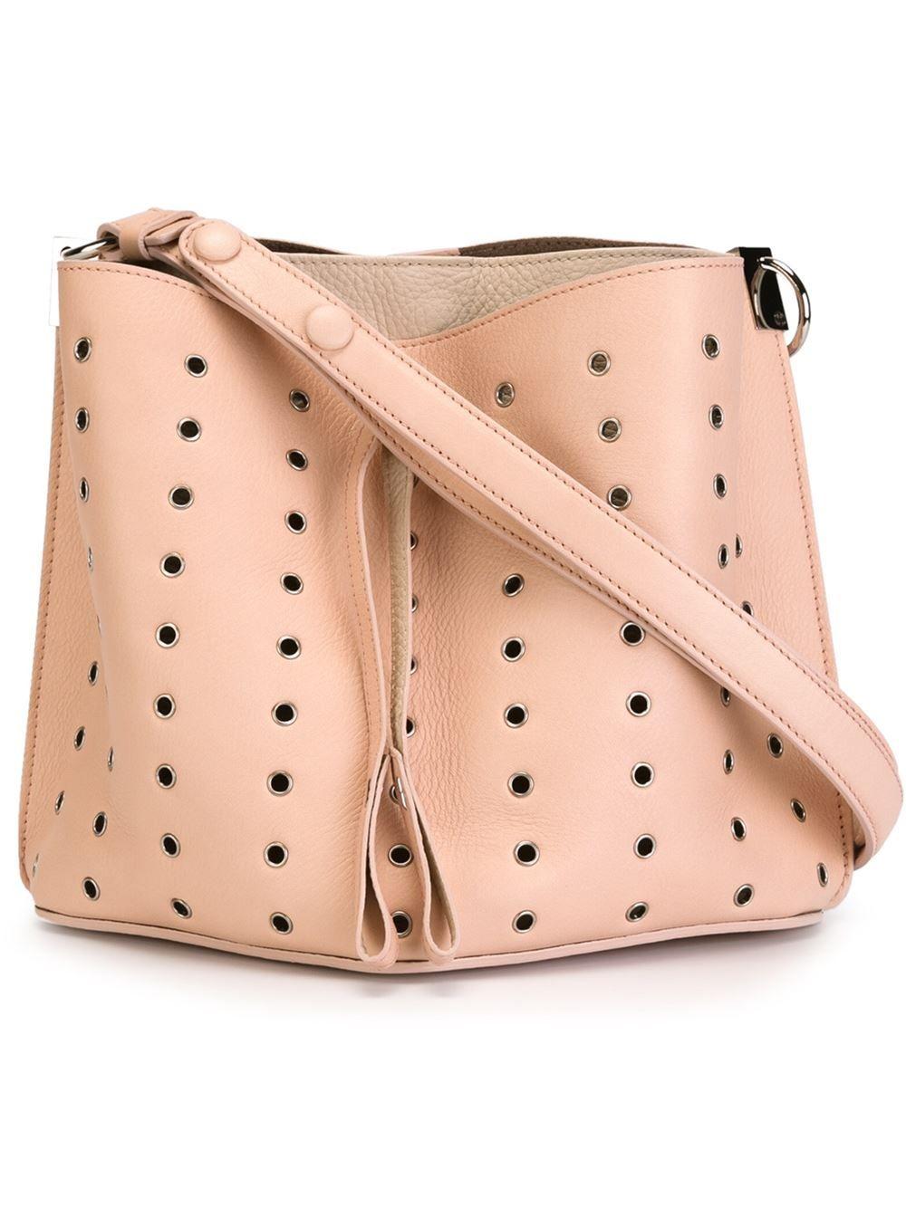 Maison Margiela сумка-мешок с люверсами