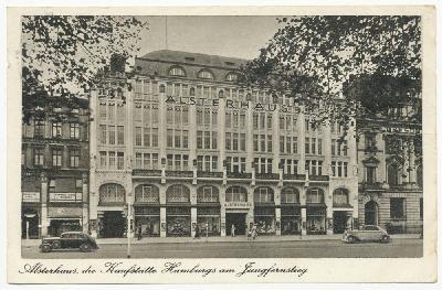 Alsterhaus, die Kaufstätte Hamburgs am Jungfernstieg