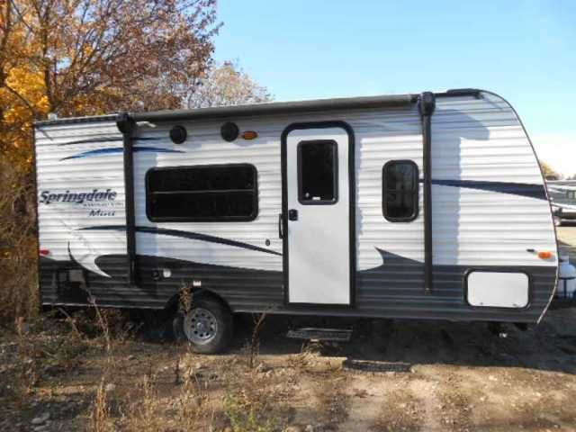 2016 New Keystone Springdale Mini 1700 Travel Trailer In Idaho IDRecreational Vehicle Rv