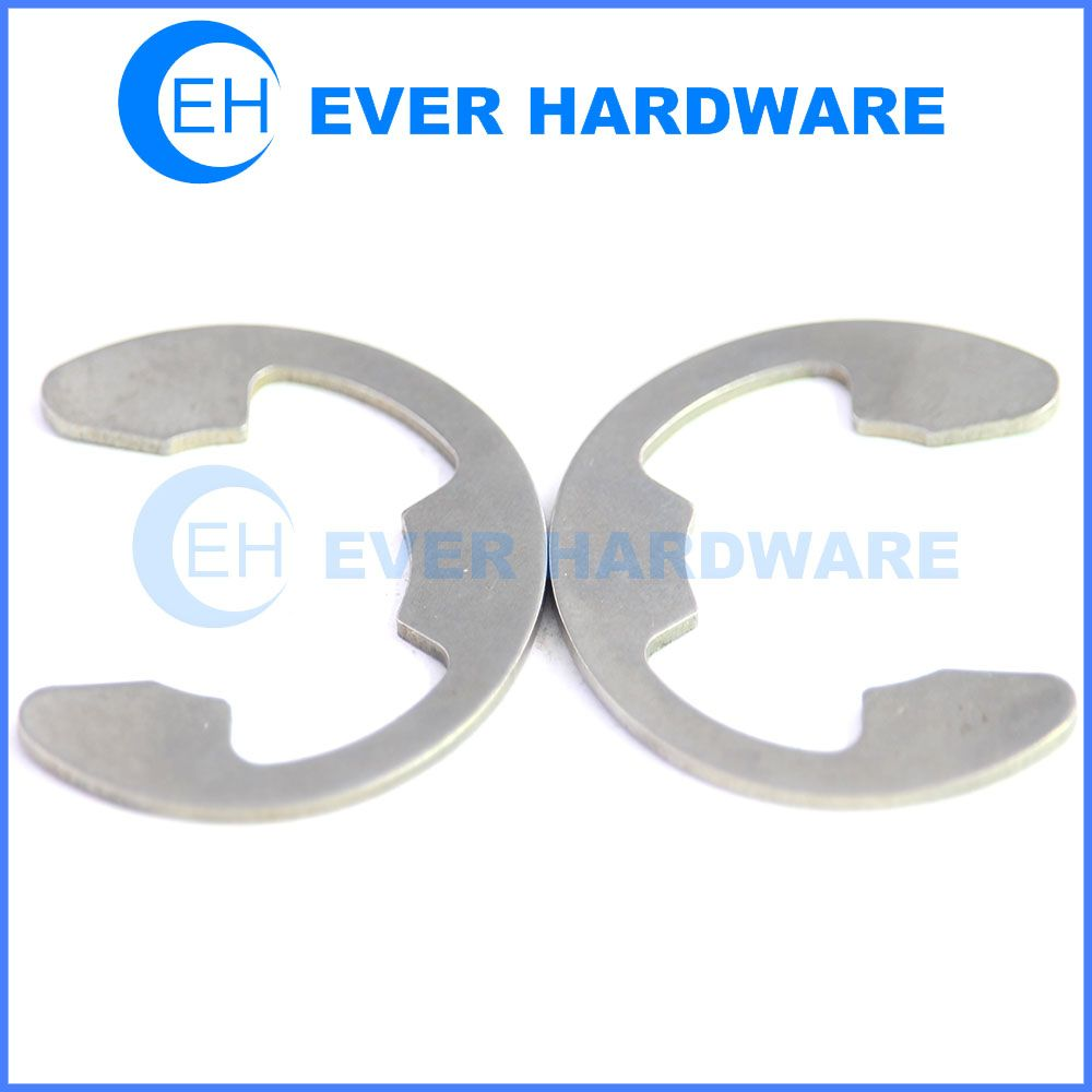 Metric snap rings ss circlips e clips fasteners inner bearing ...