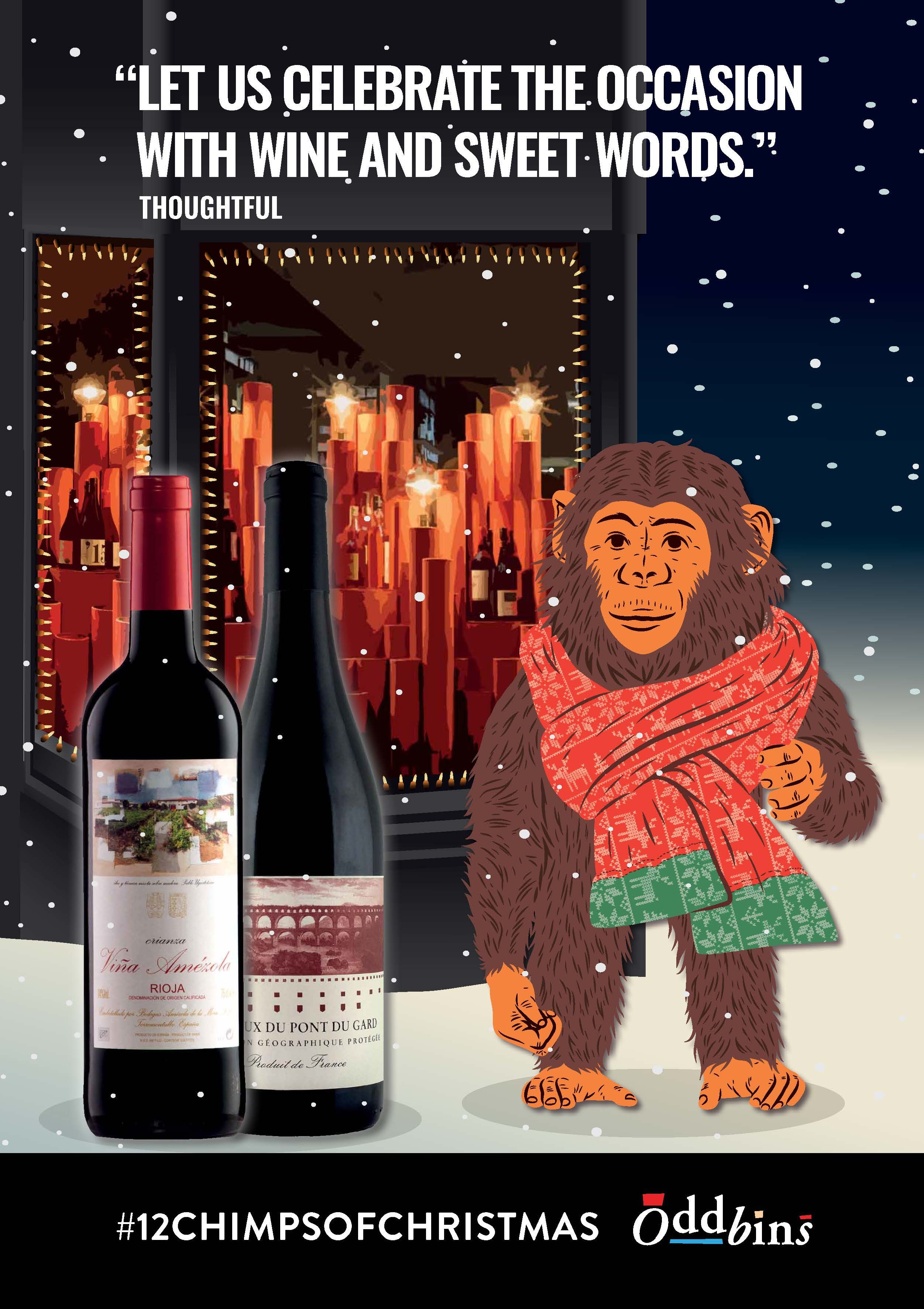 Let Us Celebrate The Occasion With Wine And Sweet Words Thoughtful Chimp Buy Wine Wine Wine Merchant