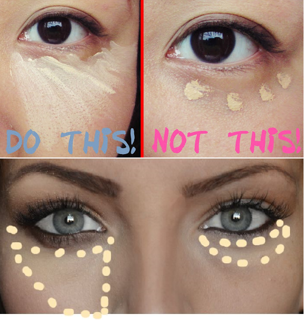 How to Properly Apply Under Eye Concealer My Hijab