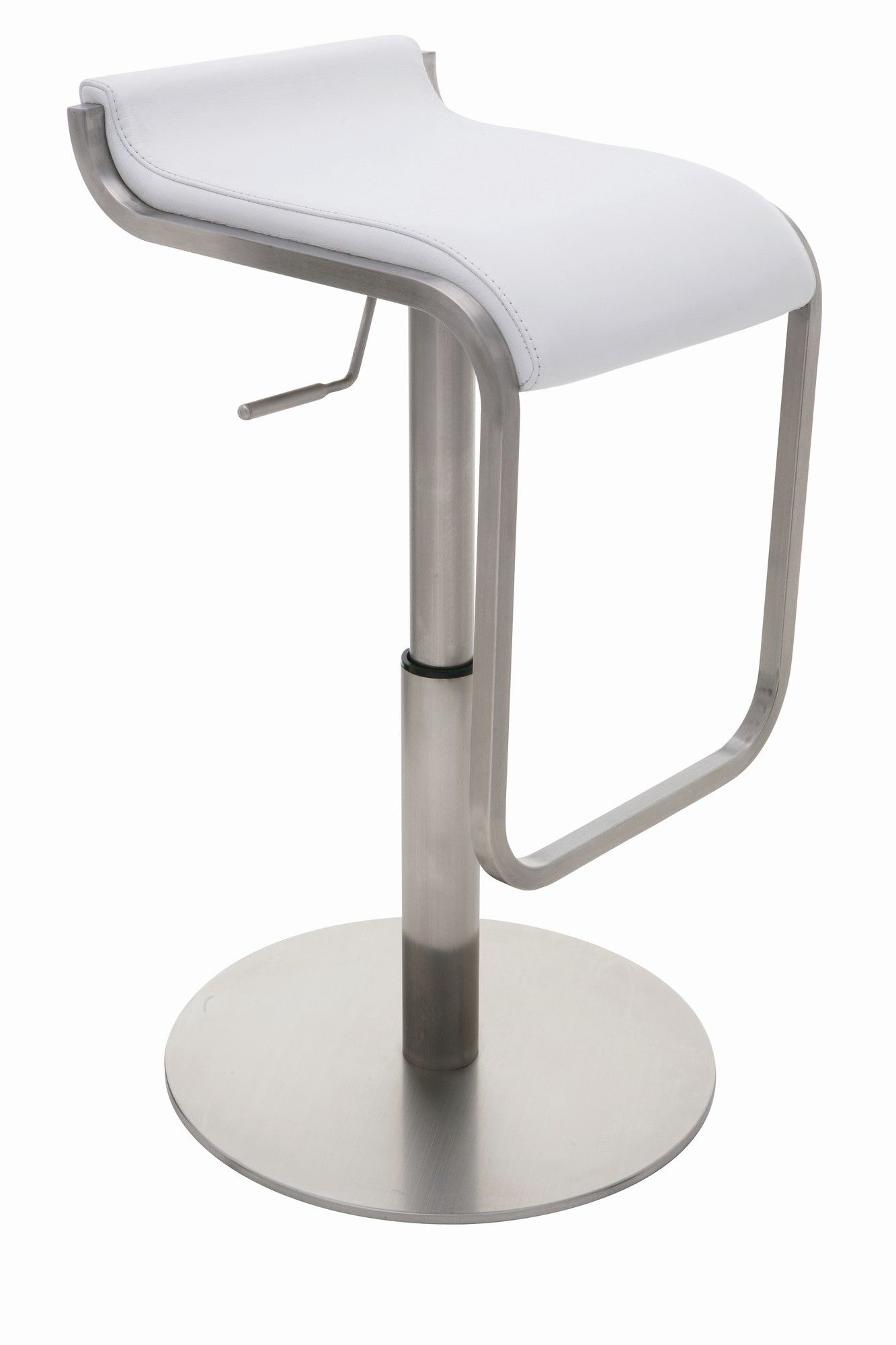 Taburete Con Ruedas Carrefour Adora Adjustable Height Bar Stool