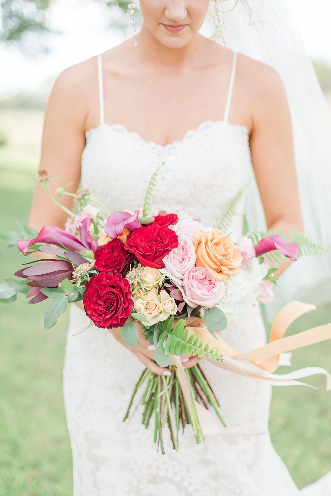Grace + Anthony Cottage wedding, Bridesmaid bouquet