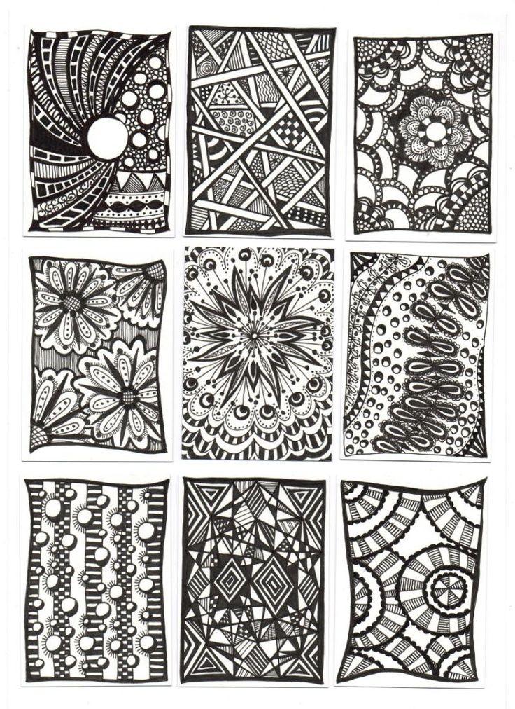zentangle pattern ideas | Zentangle ideas | Craft - Patterns ...