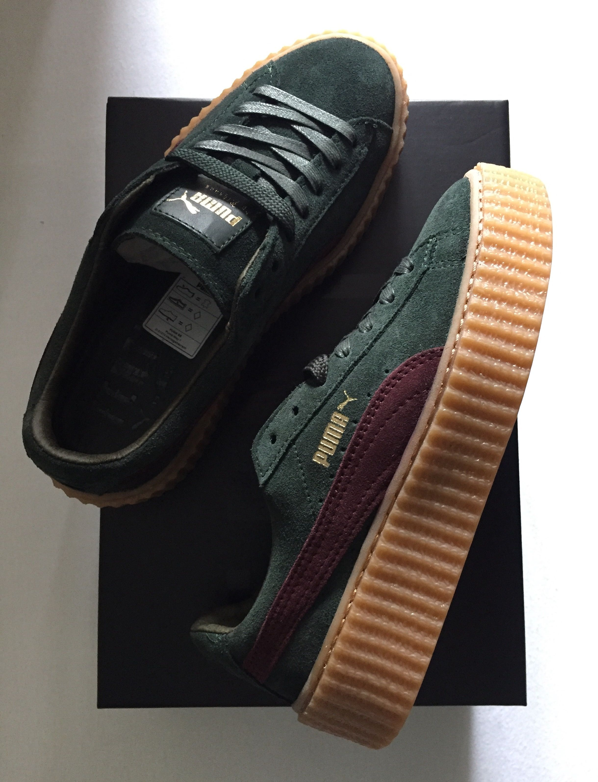 mnqmn x puma creeper by rihanna in gr sse eur 37 for sale. Black Bedroom Furniture Sets. Home Design Ideas