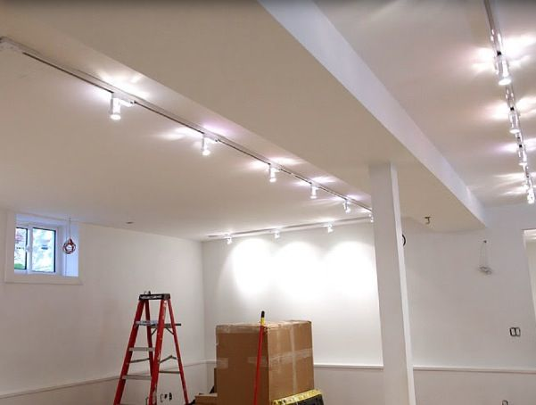 track lighting for art. structural fixture track lighting is when lights are on the ceiling and can be for art