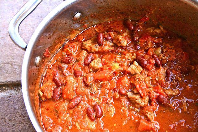 Johnny's Kitchen: Chunky Chilli Con Carne