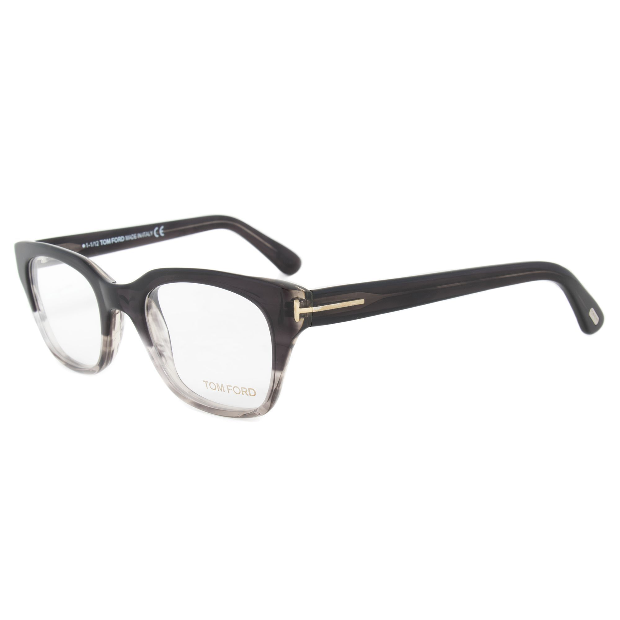 fc7409a0e2 Tom Ford TF5240 020 Striped Horn Grey Frame 49mm Eyeglasses Frame ...