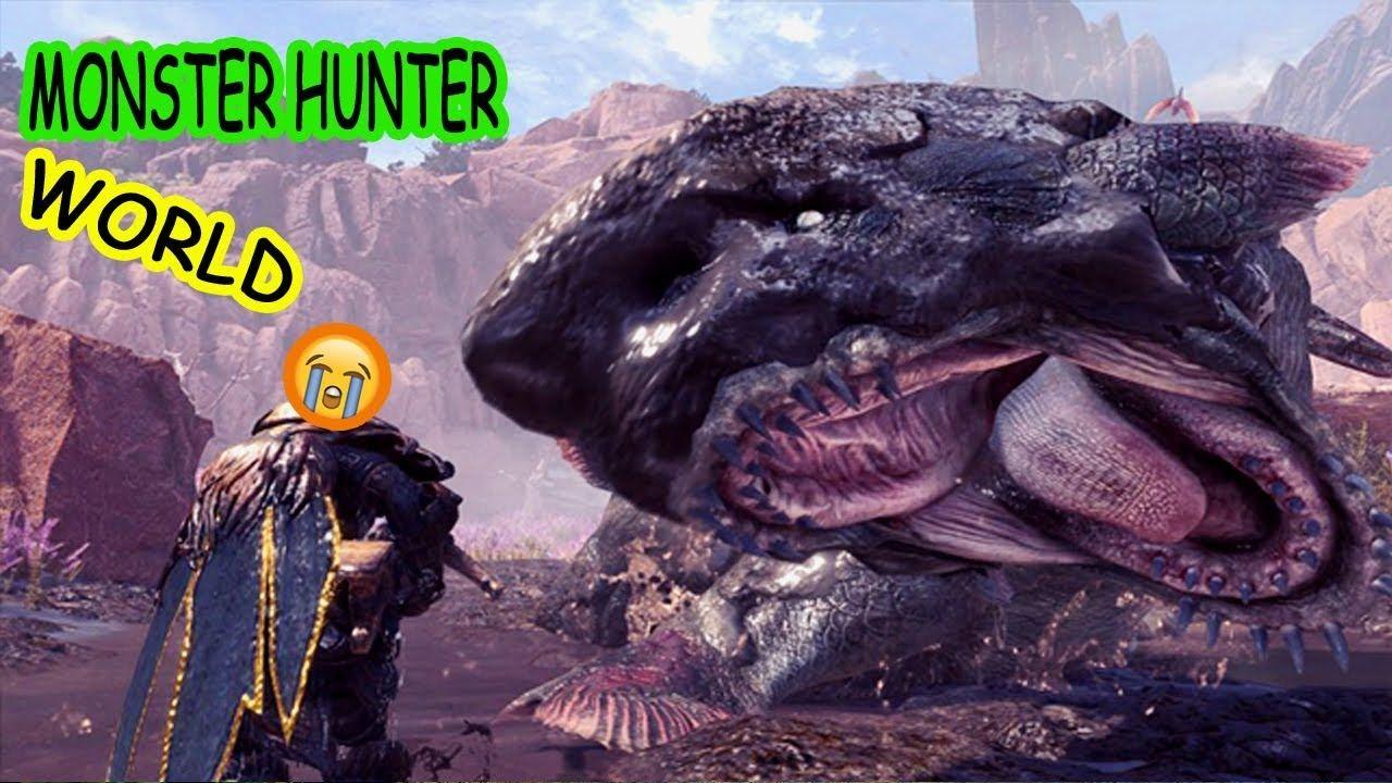 Monster hunter world jyuratodus boss fight new