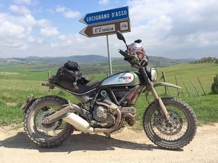 Ducati Scrambler Tire Replacement