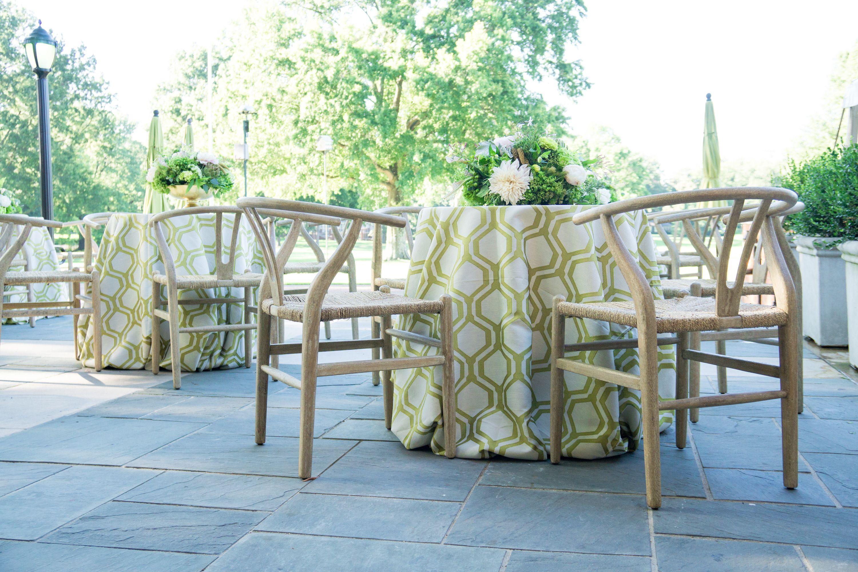 al fresco geometric organic wishbone chair table seating open rh pinterest com