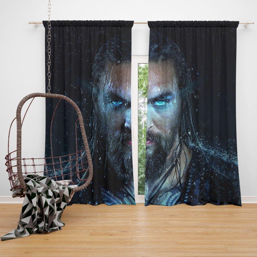 Dc Comics Superhero Aquaman Curtain Super Heroes Bedding Dc