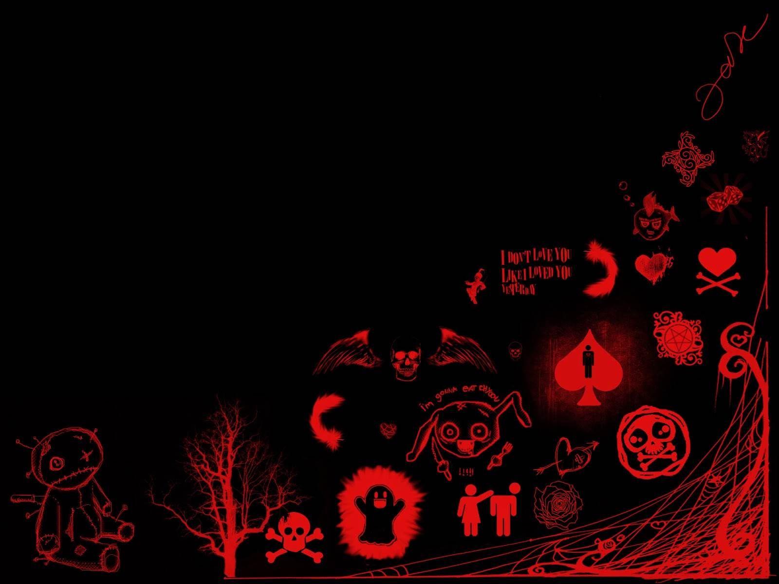cool skull wallpaper fullscreenwallpaper 1920×1080 Red And