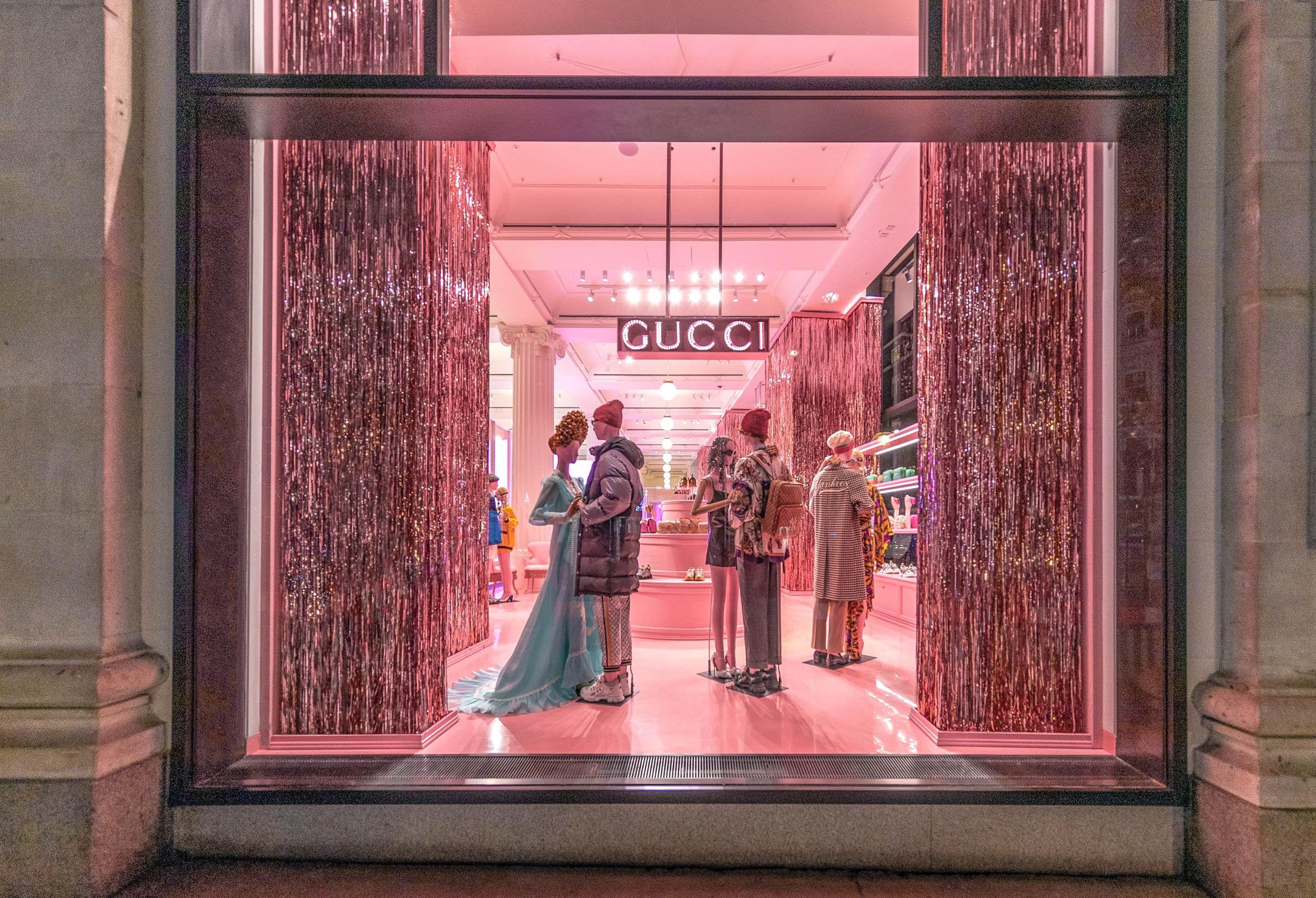Gucci Takes Over The Selfridges Corner Shop   Fashion   Clash Magazine 2f63bb80003