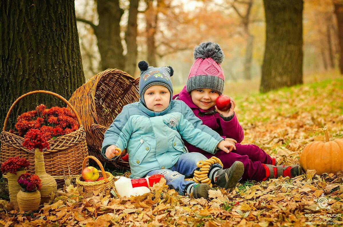 Осенняя фотосессия в екатеринбурге отец