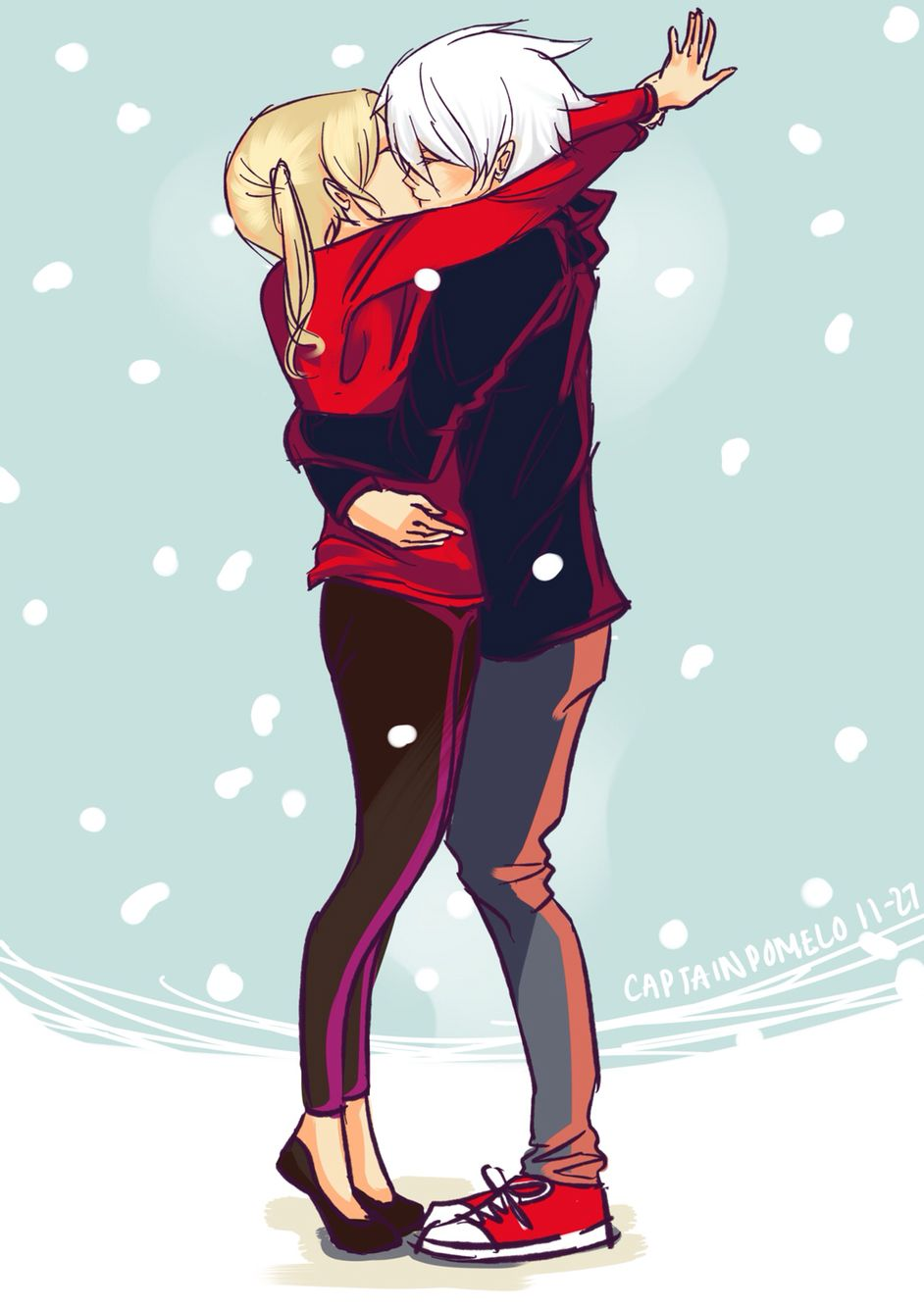Maka and Soul. I will always ship them. ❤️ my favorite couple ever, hands down. #souleater #makaalbarn #souleaterevans