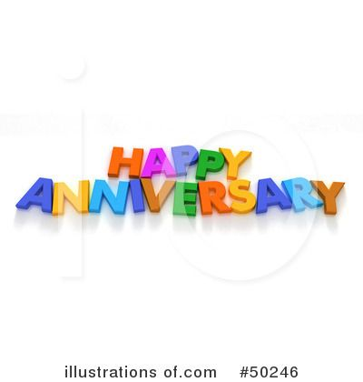 Happy Anniversary Clip Art   Royalty-Free (RF) Anniversary Clipart ...