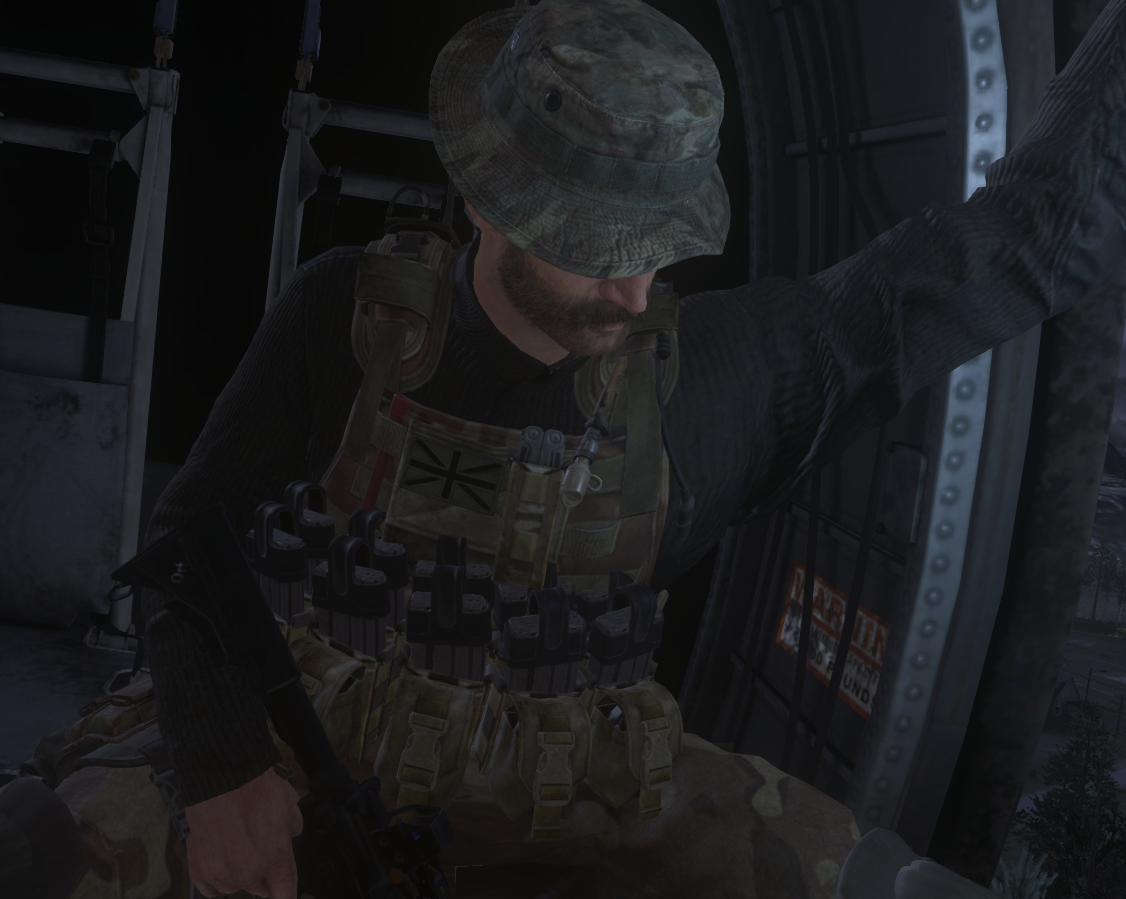 Call Of Duty Modern Warfare Remastered Captain John Price Bravo Six Sas Call Of Duty Modern Warfare Military Figures