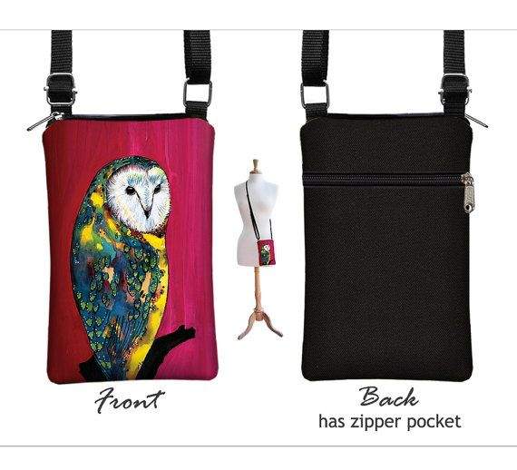 Clara Nilles Owl  iPhone 6 case Fabric iPhone by janinekingdesigns