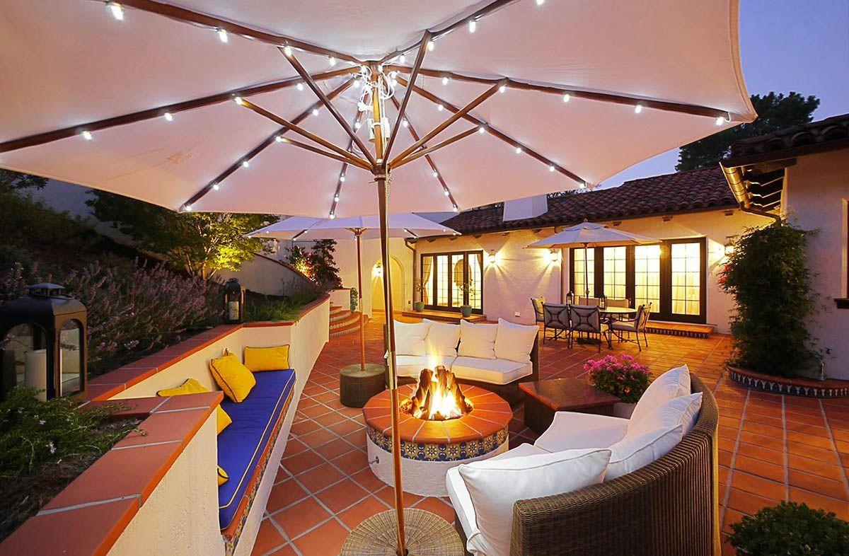 outdoor solar patio lighting solar patio lights patio lighting