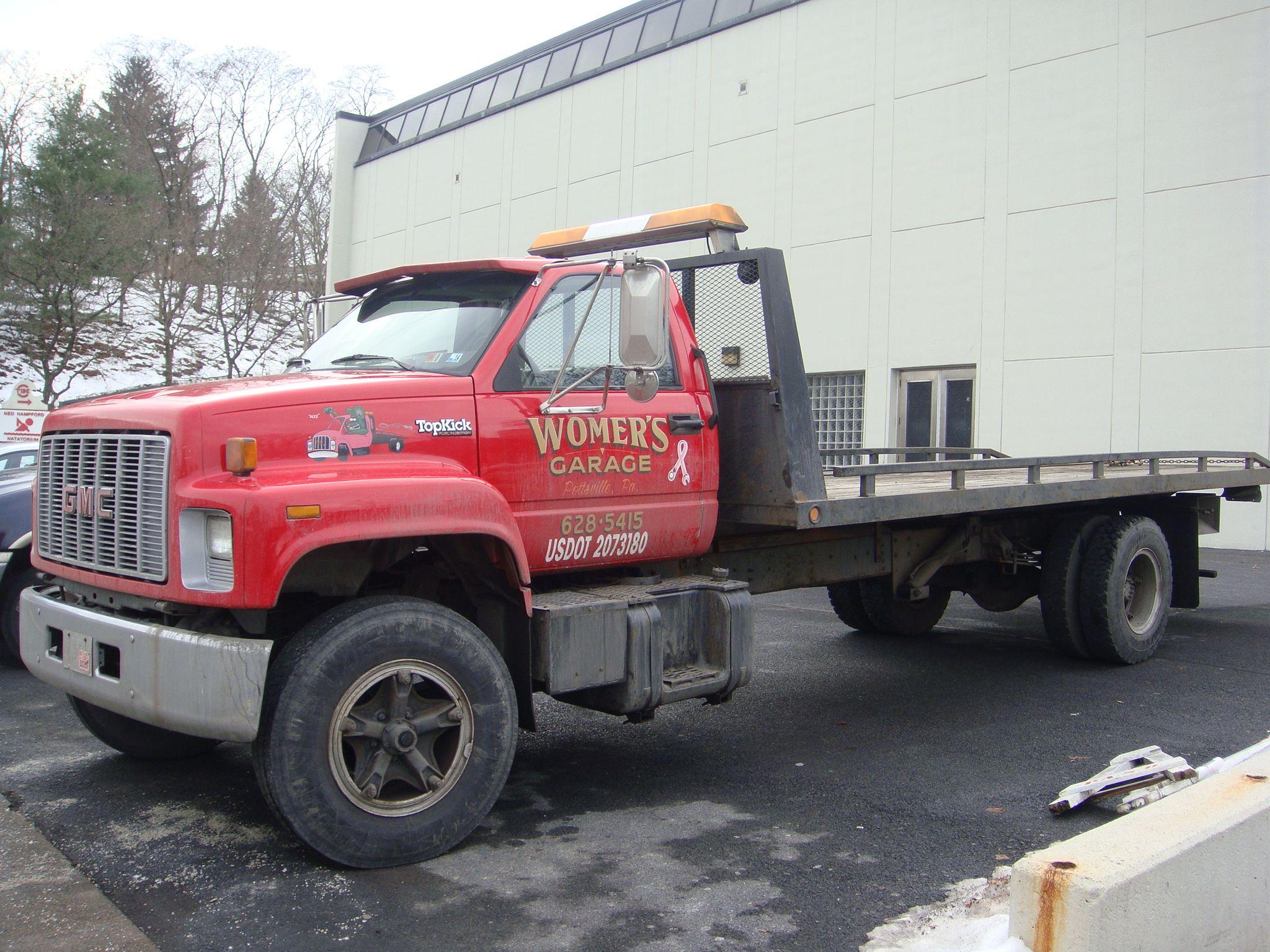 Womer s garage pottsville pa craftstow trucktrucksgarage