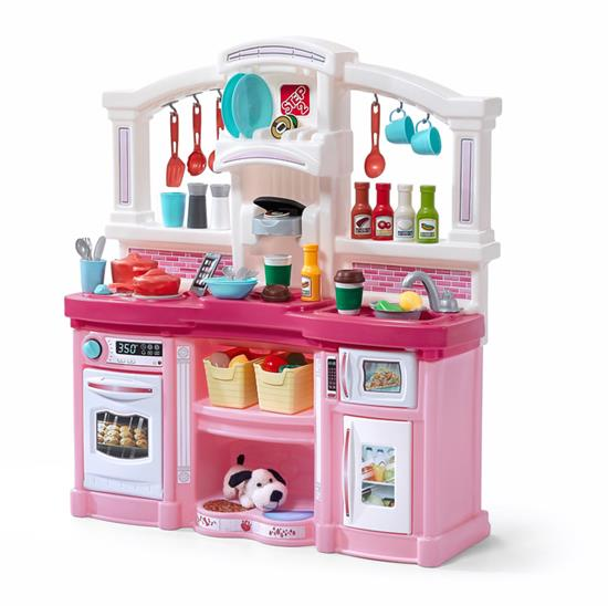 Step2 488399 Fun With Friends Kids Play Kitchen Large Fun Lights