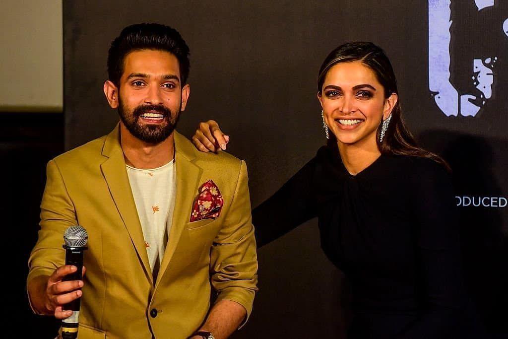 Deepika Padukone and Vikrant Massey at Chhapaak trailer ...