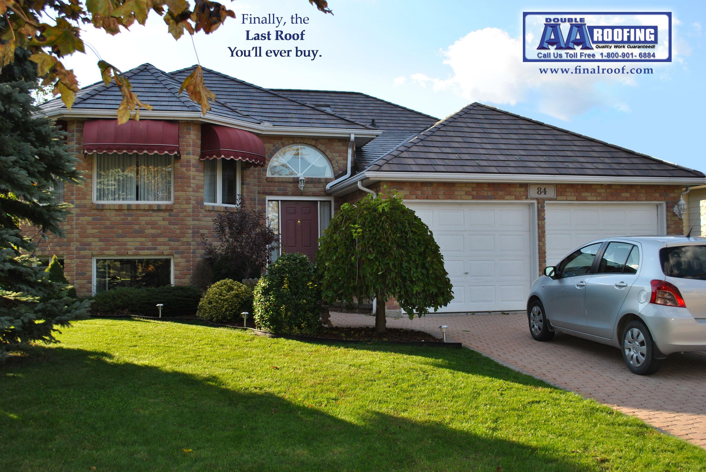 Residential Metal Roofing In Tecumseh Ontario By Double Aa Roofing Roofing Residential Metal Roofing Metal Roof