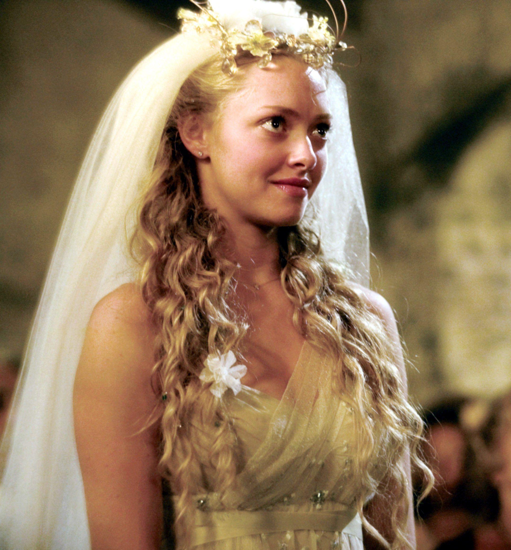 The Best Tv And Movie Wedding Hairstyles Mamma Mia Wedding