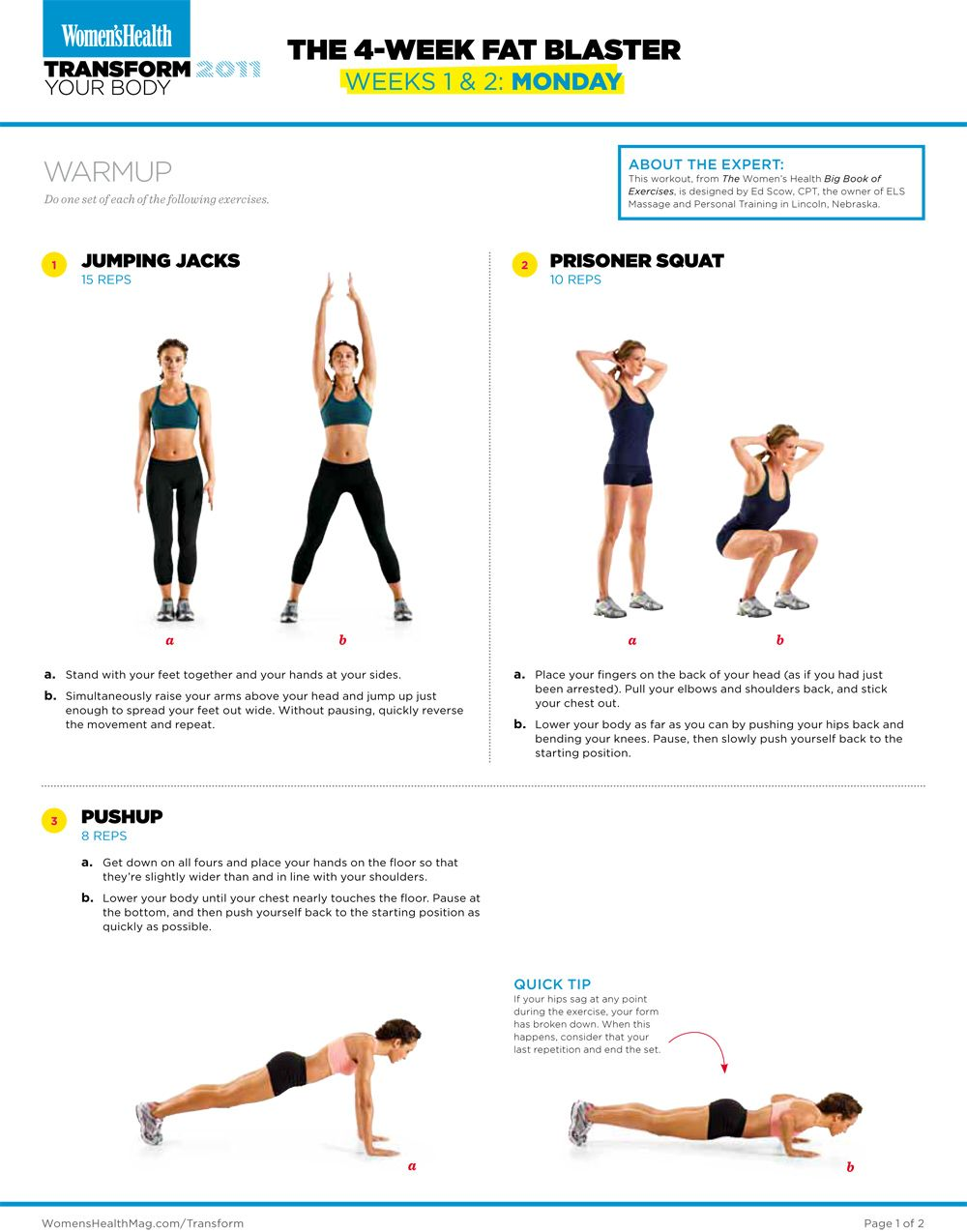 Womens Health Big Book Of Exercises Pdf