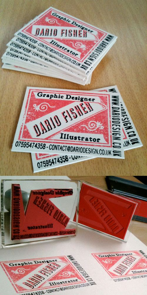 Rubber stamp business card self produced business cards drawing rubber stamp business card self produced business cards drawing much inspiration from european matchbox designs made into two rubber stamps by a local colourmoves