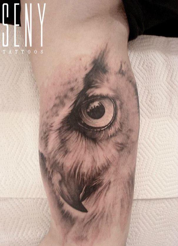 Men Eagle Tattoo Design | Eagle tattoo, Owl tattoo sleeve ...