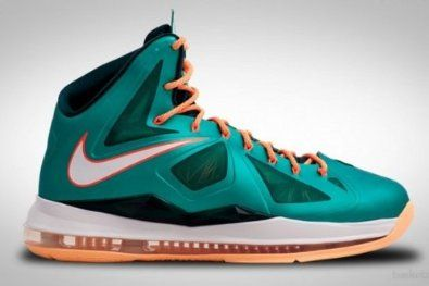 Cheap Nike Lebron X (Miami SettingDolphins) Atomic tealAtomic Teal