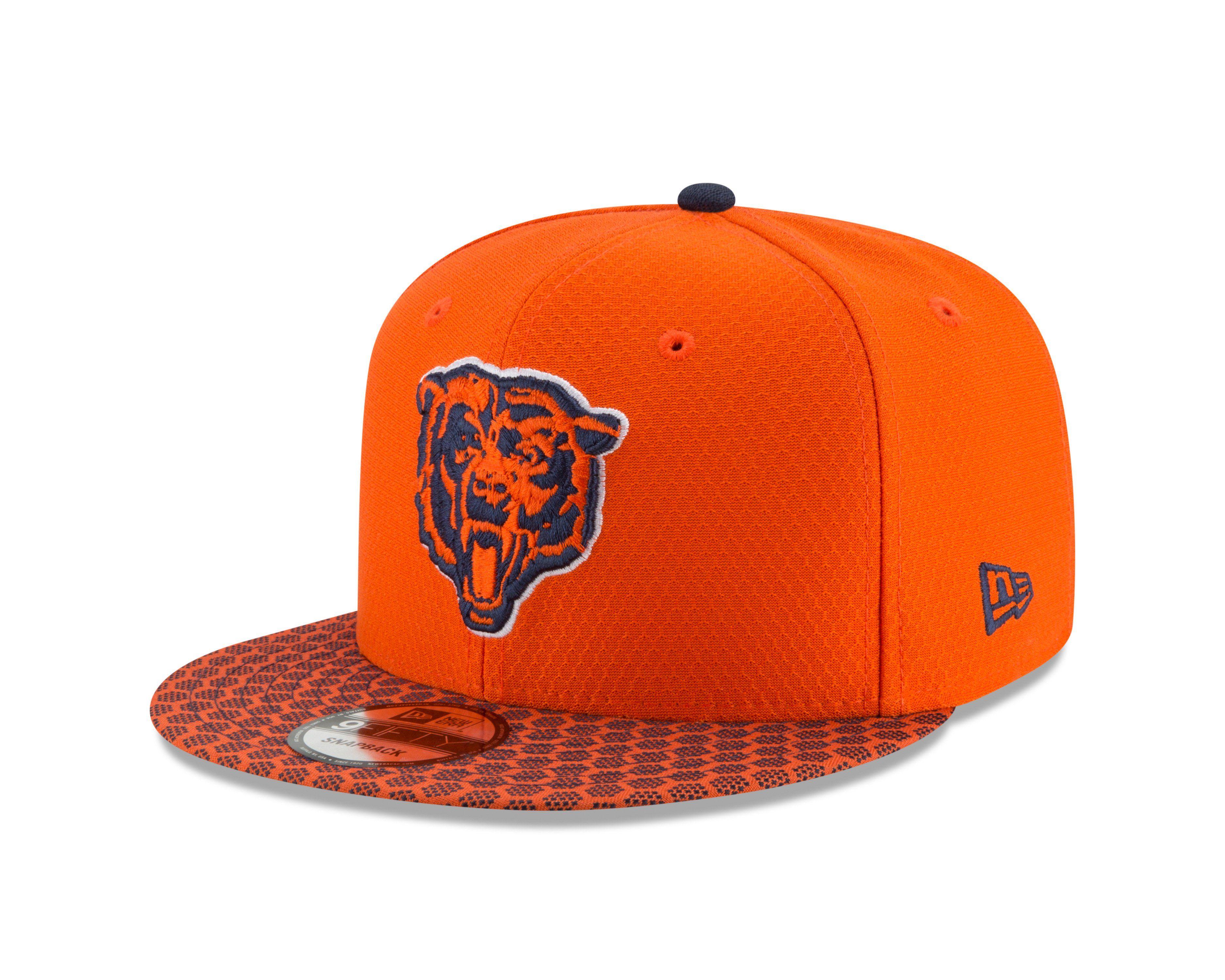 Chicago bears bear head logo nfl17 sideline 9forty