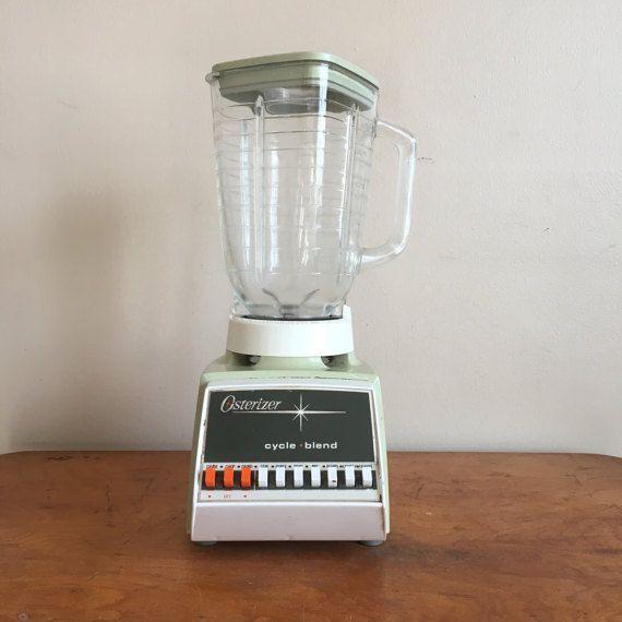 Vintage Green Osterizer Blender