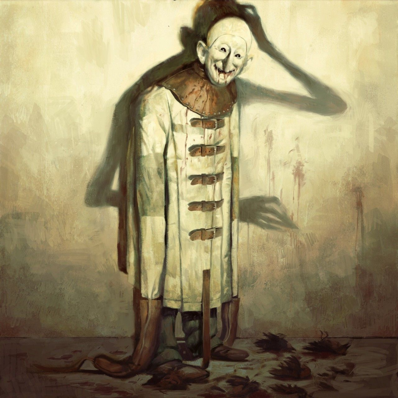 Scary Paintings, Horror, Creepy Art