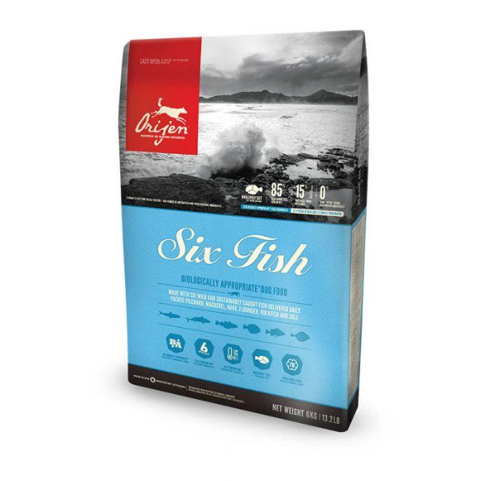 Orijen Six Fish Dog Food in 2020 Dog food recipes, Dry